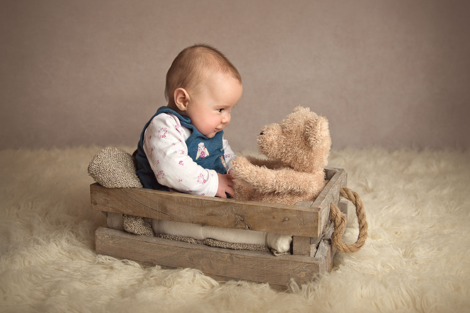 baby and teddy by siobhan kelly photography
