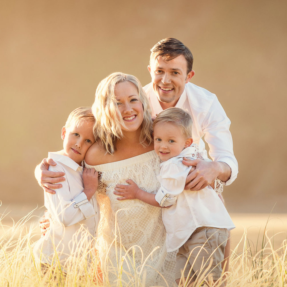 family photographby auckland photographer Siobhan Kelly
